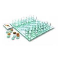 Игра в подарок  — Алко-игра 3 в 1 шахматы, шашки и карты (пьяные шахматы, шашки, карты)