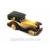 Деревянная ретро-машинка