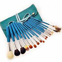 Будь прекрасной каждый день! с набором из 17 кистей для макияжа от msq, практичный чехол из искусственной кожи