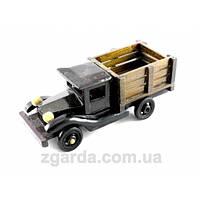 Деревянная ретро машинка - грузовик
