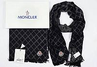 Шарф унисекс в клеточку Moncler #003