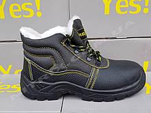 Ботинки с мехом рабочие 45