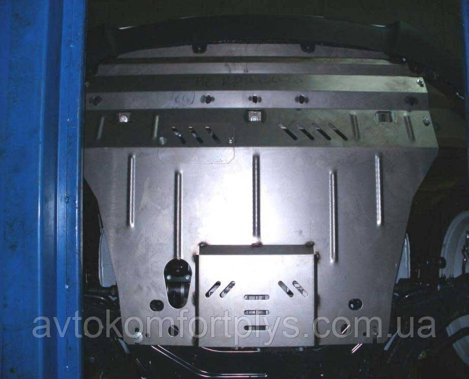 Металлическая (стальная) защита двигателя (картера) Hyundai IX35 (2010-) (все обьемы Дизель)