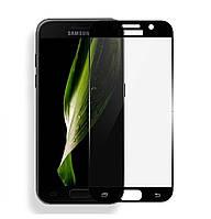 Защитное стекло 3D Full Cover для Samsung Galaxy J3 (2017) SM-J330 Black (Screen Protector 0,3 мм)