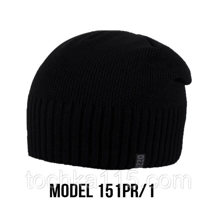 Мужская шапка Ozzi, шапка на флисе 151 черный