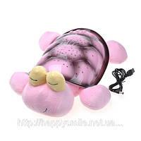 Черепаха проектор-светильник звездное небо, музыкальная / Snail Twilight musical