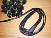 Лента из рафии Черная 10м