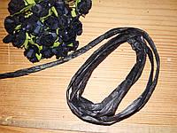 Лента из рафии Черная 10м, фото 1