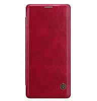 Кожаный чехол-книжка Nillkin Qin Series для Samsung Galaxy Note 8 SM-N950F Red