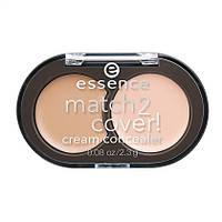 Essence  Match 2 Vover Cream Concealer - Крем-корректор для лица