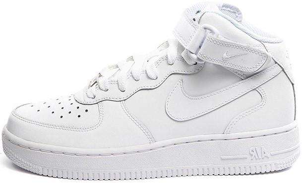 """Мужские зимние кроссовки в стиле Nike air force""""White"""" ( В стиле Найк )"""