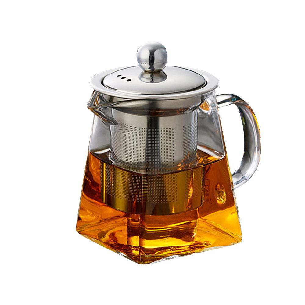"""Стеклянный чайник заварник """"SAVA'L"""""""