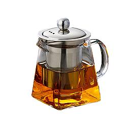 Стеклянный чайник заварник