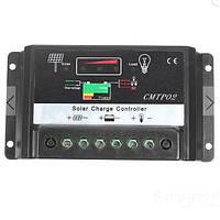 Контроллер заряда аккумулятора от солнечной панели 10А, 20А