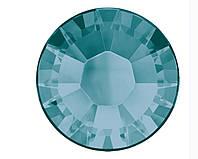 Кристаллы Swarovski клеевые горячей фиксации 2038 Blue Zircon F (229)