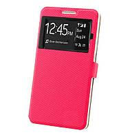 Чехол-книжка Wise Window Style для Huawei Y3 II / Y3 2 Pink