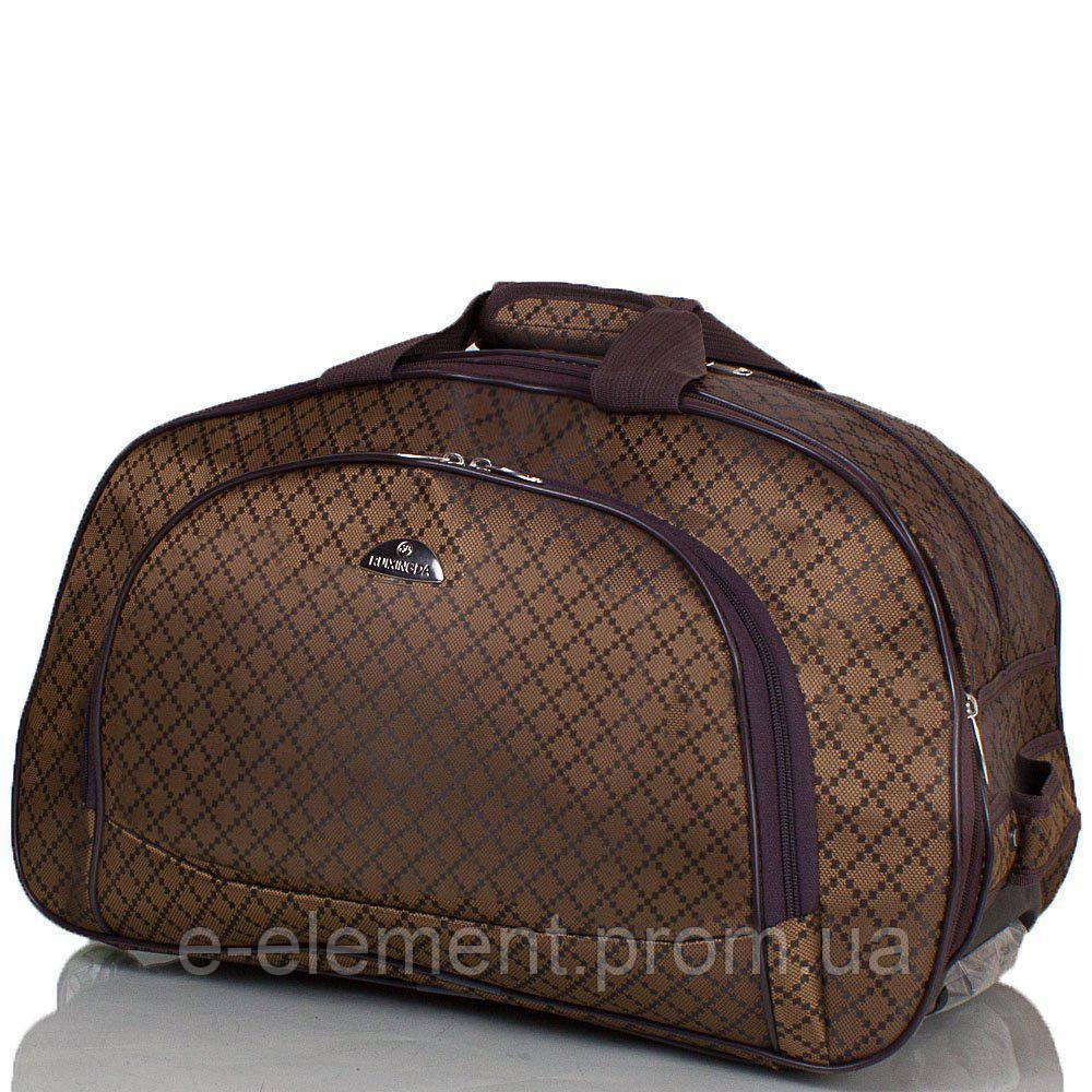 01731da90991 Сумка дорожная RUIXINGDA Дорожная сумка маленькая на 2-х колесах RUIXINGDA  TU123S-brown