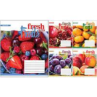 А5/24 лин. 1В Fruits-2018, тетрадь ученич.