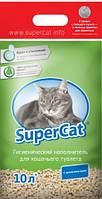 SuperCat СТАНДАРТ Наполнитель для кошачьего туалета ароматизированный