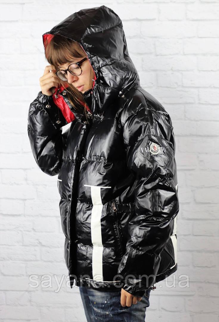 Женская куртка с капюшоном и сублимацией. БР-3-1118