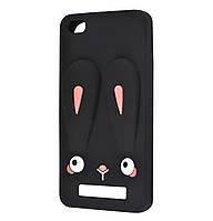 Чехол-накладка TPU Rabbit для Xiaomi Redmi 4A Black