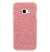 Чехол-накладка Shining Glitter Case для Samsung Galaxy A7 (2017) SM-A720 Pink
