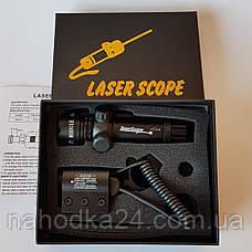 Лазер с креплением зеленый Laser Sight Scope green, фото 2
