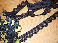 Тесьма макраме Черное 2см, фото 1