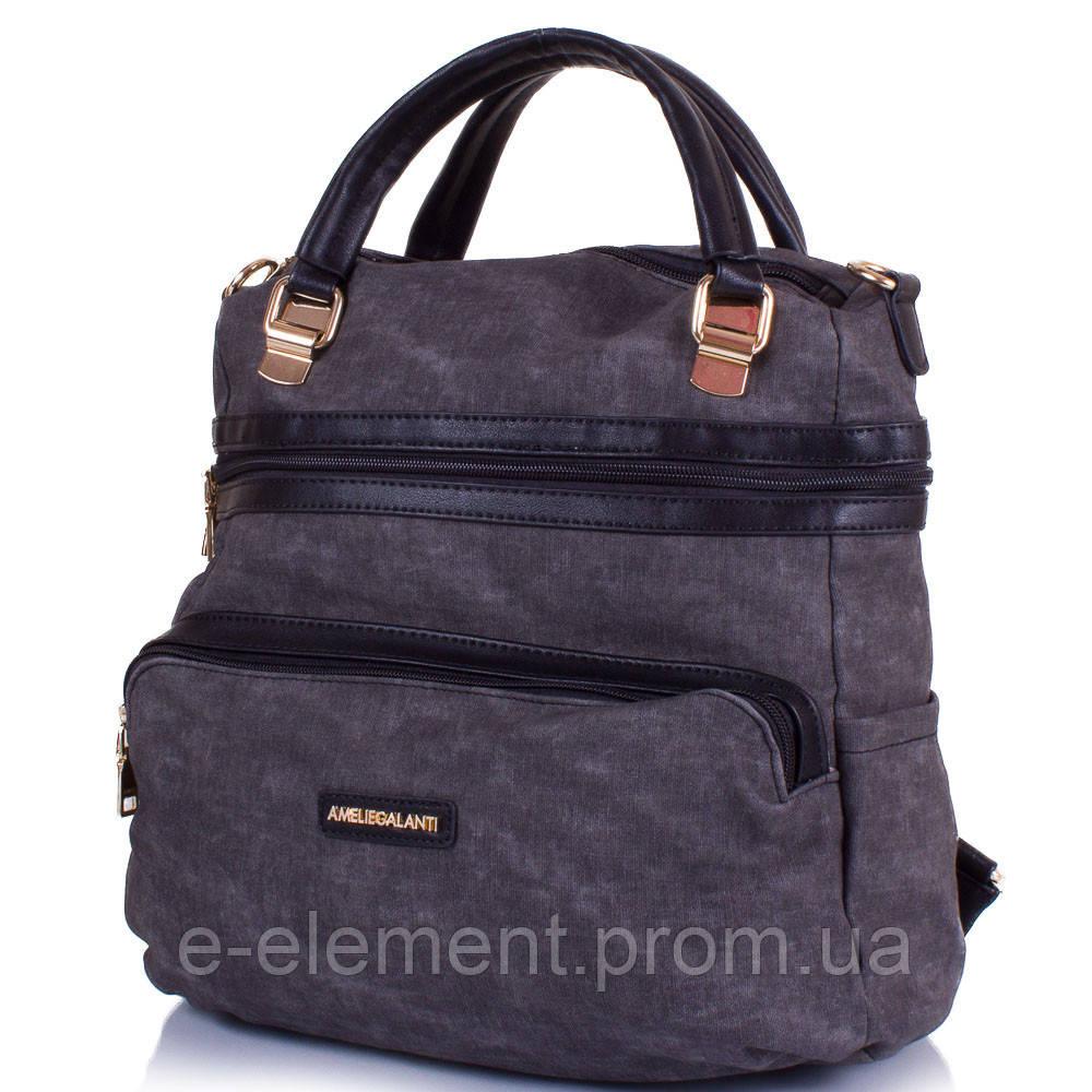 2347fea1204a ... Сумка-рюкзак Amelie Galanti Женская сумка-рюкзак из качественного  кожезаменителя AMELIE GALANTI (АМЕЛИ ...
