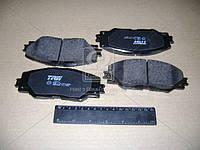 ⭐⭐⭐⭐⭐ Колодки тормозные ТОЙОТА RAV 4 передние (производство  TRW) ТОЙОТА,AУРИС,ПРИУС,РAВ  3,РAВ  4, GDB3424