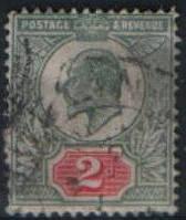 2d Великая Британия 1902