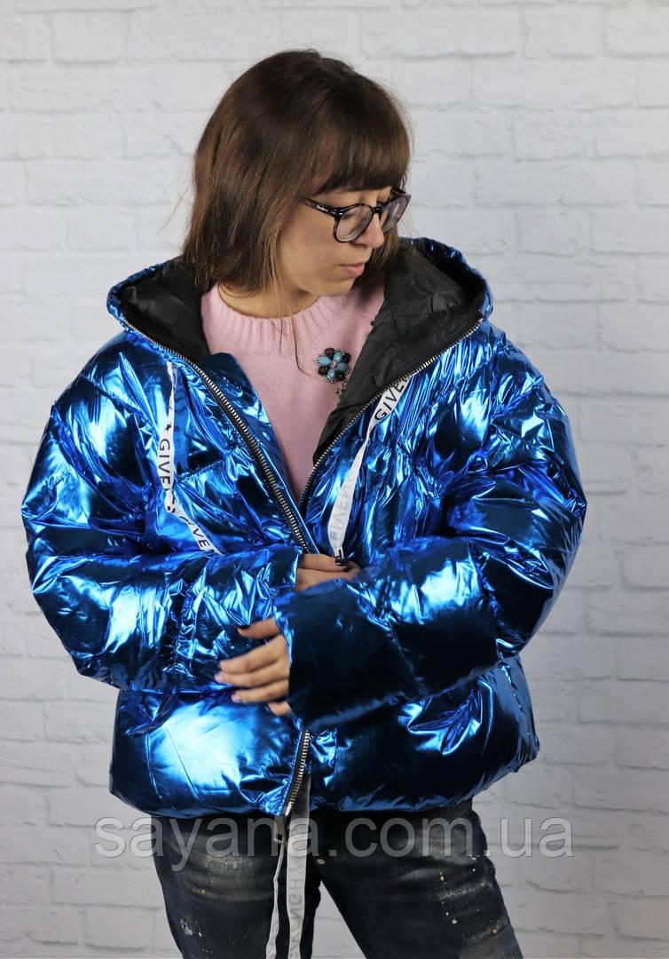 Женская куртка с капюшоном. БР-4-1118