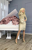 ,Платье с горловиной в золоте 188, фото 1