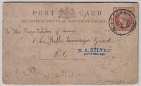 История Британской почты - почтовая открытка