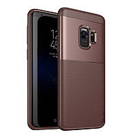 Чехол iPaky TPU+PC Dunjia для Samsung Galaxy S9 SM-G960F Brown