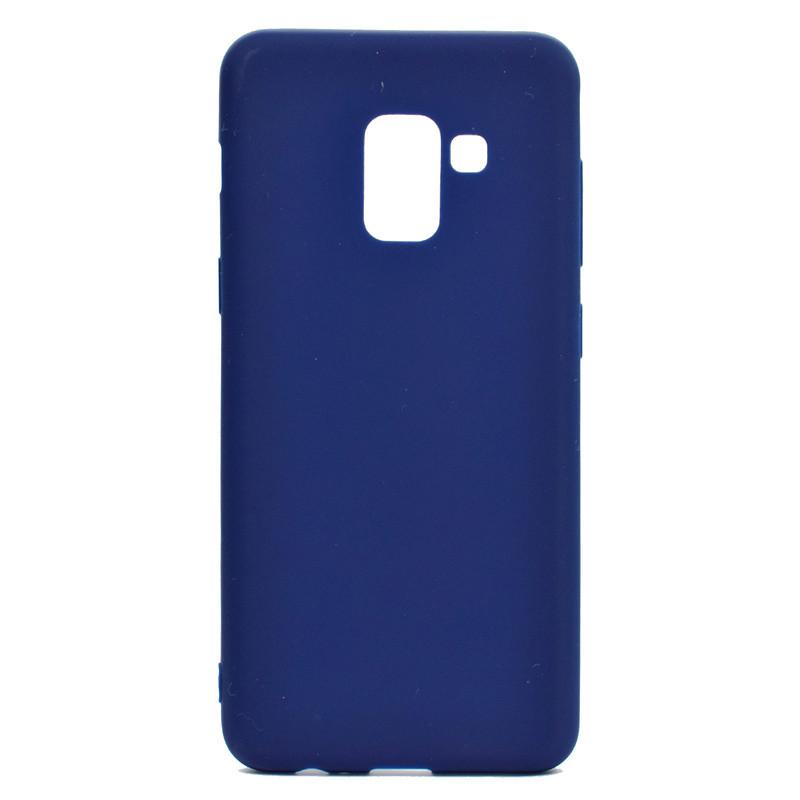 Чехол Style для Samsung Galaxy J6 2018 / J600F Бампер силиконовый синий