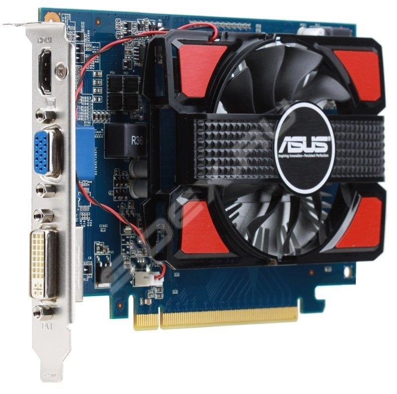 Відеокарта ASUS GT 630 2048MB DDR3 (128bit) (700/1600) (VGA, DVI, HDMI)