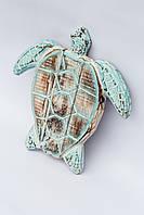 "Вешалка ""Черепаха"" 28 см, голубой"