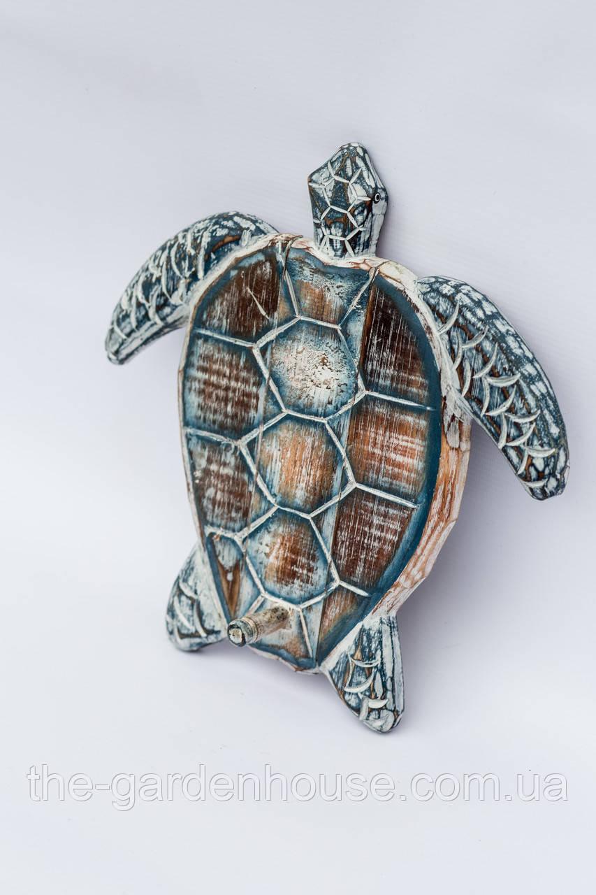 """Вешалка """"Черепаха"""" 22 см, графит"""