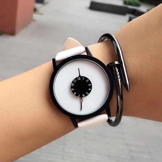 Часы Funny watch (white) - гарантия 6 месяцев