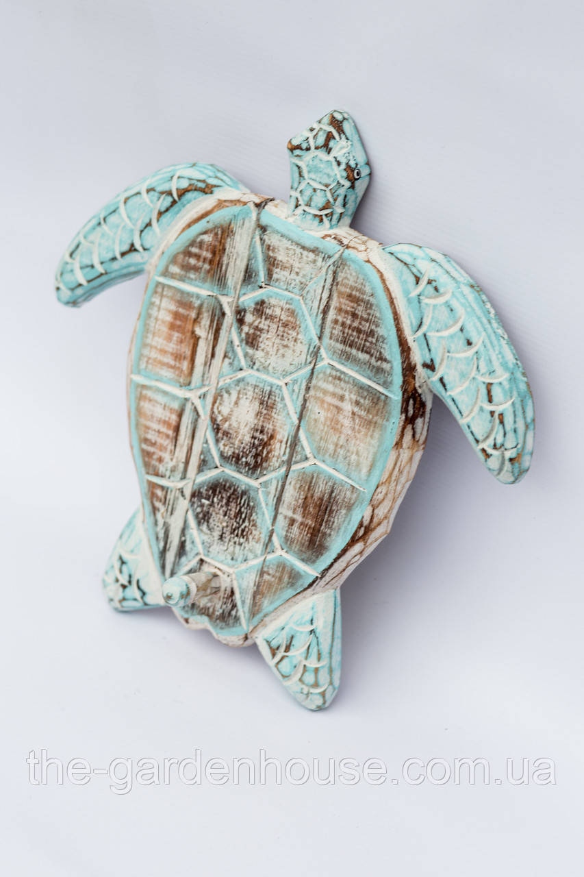 "Вешалка ""Черепаха"" 20 см, голубой"