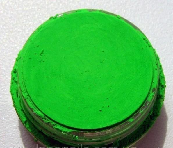Пигменты для акрила и геля,зеленый