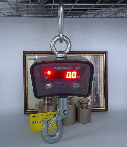 Весы крановые 500 кг, OCS А 500