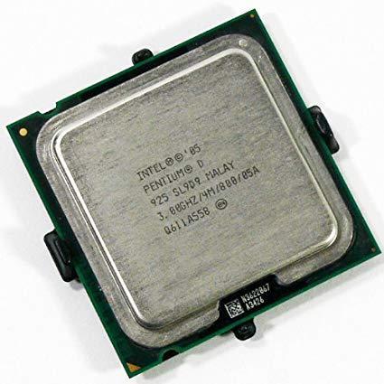 Процессор Intel Pentium D 925 4 МБ кэш-памяти, тактовая частота 3,00 ГГц, частота системной шины 800 МГц