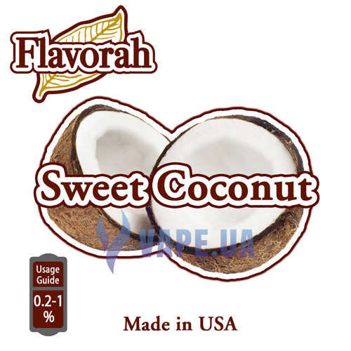 Flavorah - Sweet Coconut (Солодкий кокос)