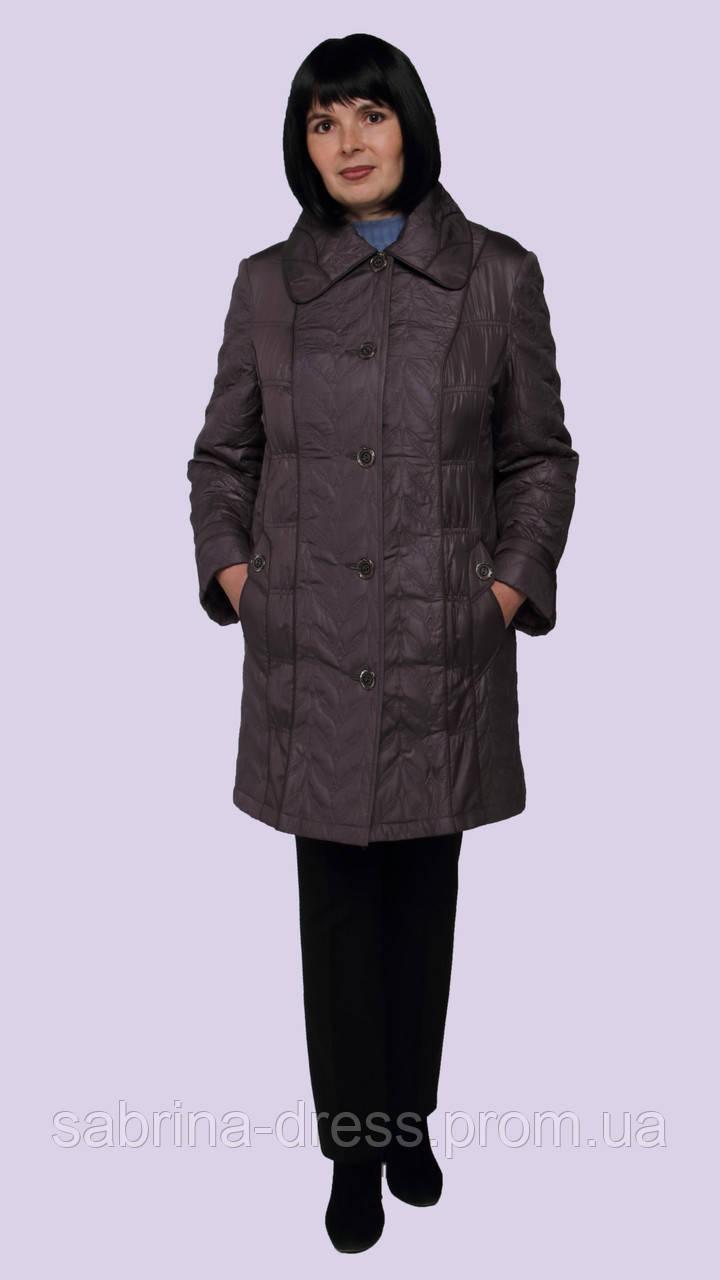 321922ebfba Женская демисезонная куртка. Модель 199. Размеры 56-58 - sabrina-dress в
