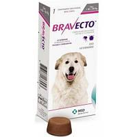 BRAVECTO БРАВЕКТО таблетки от блох и клещей для собак весом от 40 до 56 кг