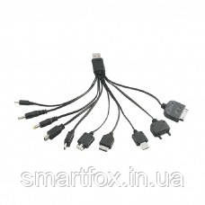 Зарядное устройство USB 10в1, фото 2
