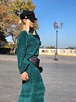Теплый юбочный костюм вязка 183, фото 1