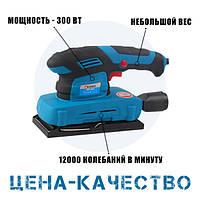 Вибрационная шлифмашина СОЮЗ ПШC-8025 300 Вт, 90*187 мм, 12000 об/мин.